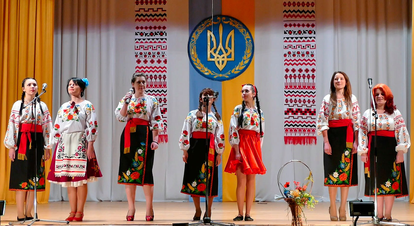 Вокальный молодежный ансамбль Изюмского Профессионального Лицея