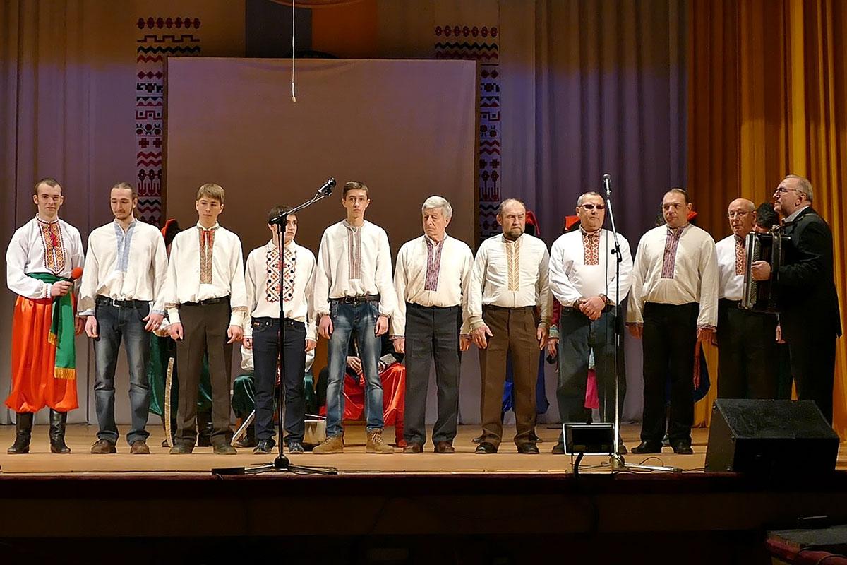 Сводный мужской хор Изюма под управлением Редько Григория Федоровича