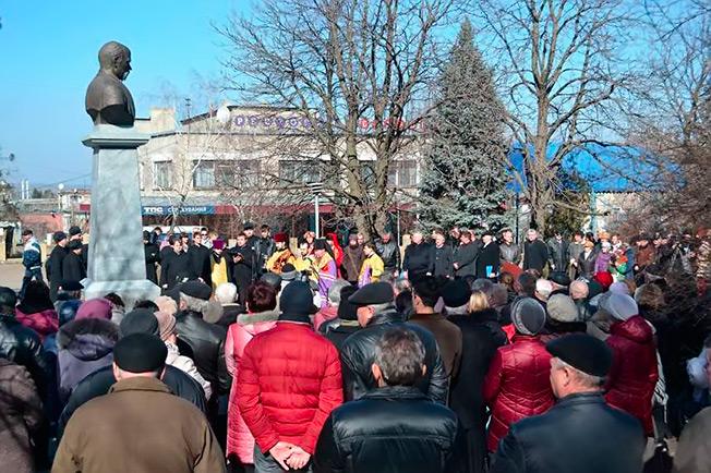 День Достоинства и Свободы в Изюме