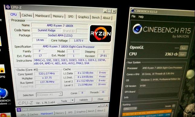 На AMD Ryzen чипах уже начали устанавливать новые рекорды.