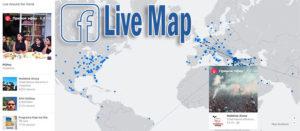 На Facebook новый сервис — Live Map