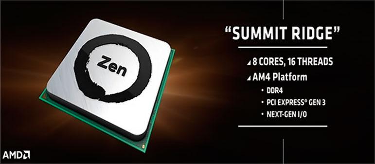 Стоимость процессора AMD Zen