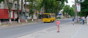 Улица Соборная в Изюме 2016