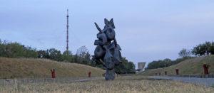 Мемориальный комплекс на Кремянце - акт вандализма