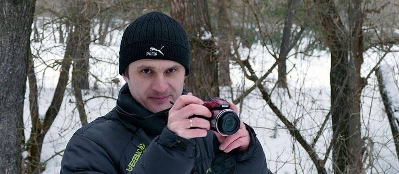 Скованный льдом Северский Донец