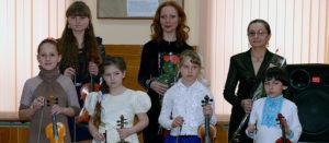 Концерт скрипичной музыки «З Україною  в серцi»