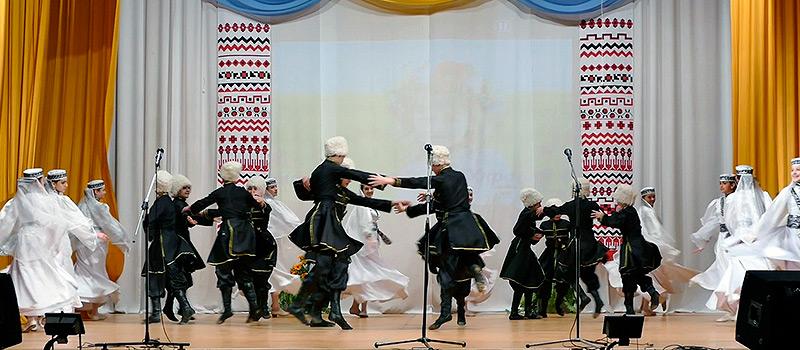 Танцевальный коллектив «Вдохновение» — «Лезгинка»