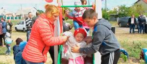 Детская площадка на Гончаровке