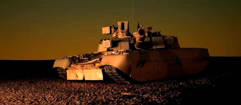 Украинский танк БМ «Оплот»