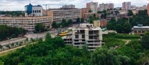 В центре Харькова взорвали здание