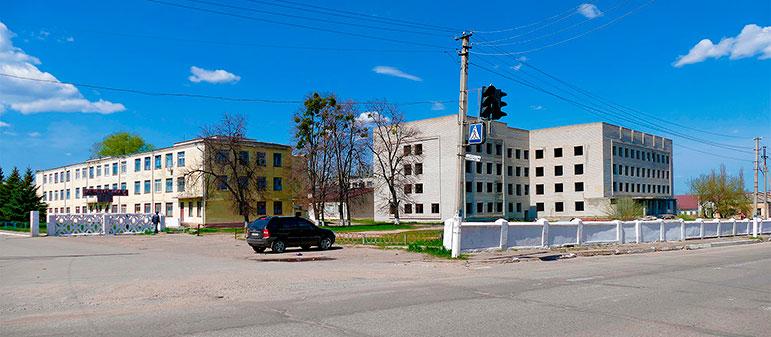 Создание современного медицинского центра в Изюме