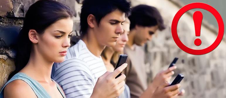 Зависимость от смартфона