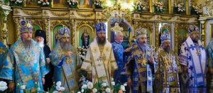 Митрополит Онуфрий посетил Изюм и совершил Божественную литургию