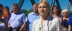 Губернатор Харьковщины Юлия Светличная посетила Изюм