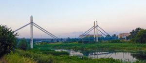 На открытие железобетонного моста обещают приезд Порошенко