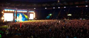 Гимн Украины на концерте Океан Ельзи в Харькове