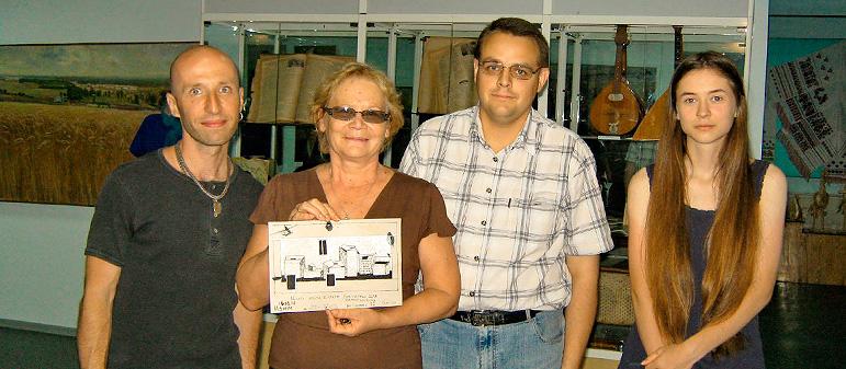 Выдающийся художник Гамлет Зинкивский завершил работу в Изюме