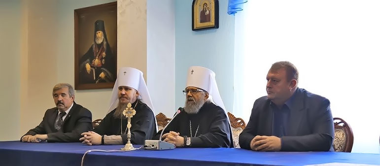 В Изюме прошло собрание военного духовенства в Вооруженных силах Украины