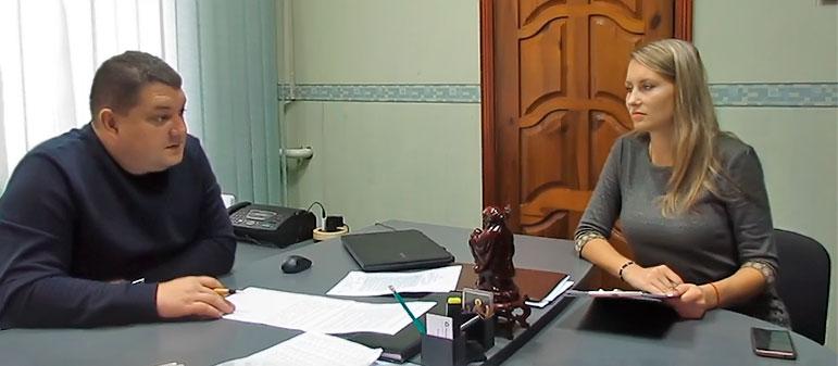 Интервью с главным врачом Изюмской центральной городской больницы Дмитрием Зиновьевым