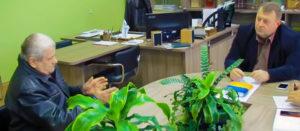 Изюмский городской голова Валерий Марченко ежемесячно проводит личные приемы граждан