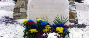Траурное мероприятие в Изюме ко дню памяти жертв Голодомора 1932-1933