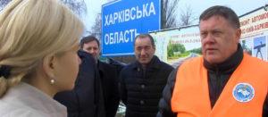 От Чугуева до границы с Донецкой областью отремонтировано 48,8 км покрытия