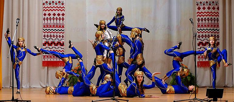 Эстрадно-цирковой коллектив «Чудесники» — «Египет»