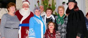 Новогоднее празднование в Терцентре Изюма