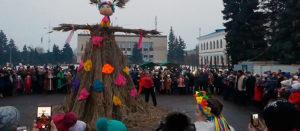 Празднование Масленицы 2018 в Изюме [видео]