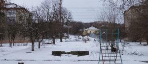 В Изюм вернулась зима
