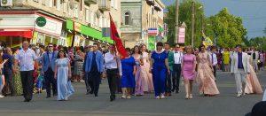 Изюм — парад выпускников 2018 [фото]