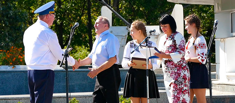 Гала-концерт на Национальном мемориальном комплексе «Высота маршала И. С. Конева»