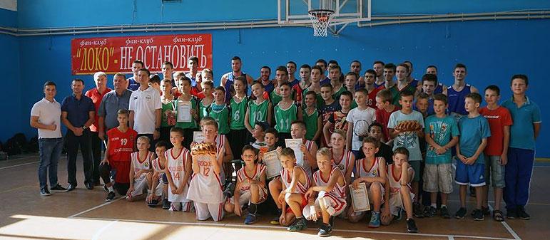 В Изюме прошла баскетбольная «Золотая осень»