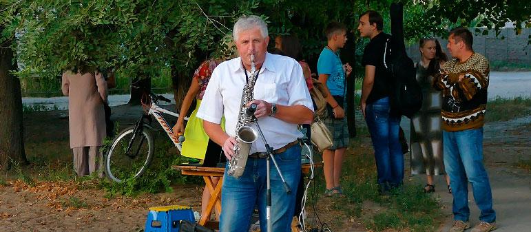 Дмитрий Рипак — музыкальный этюд на саксофоне