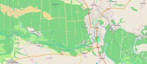 Покупайте план-схему Изюмского леса