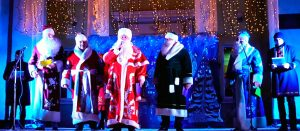 Изюмчане встретчают Новый 2019-й год [видео]