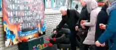 В Изюме открыли мемориальную доску погибшему воину АТО и почтили память Героев Небесной Сотни [видео]
