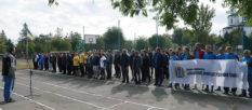 В Изюме состоялся очередной тур общегородской Спартакиады - многоборье