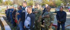 В Изюме состоялась встреча ветеранов АТО, посвященная Дню Защитника Украины