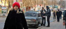 В Изюме в районе Центрального рынка полиция проводит профилактику