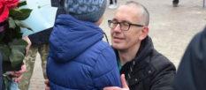 В Изюме встретили освобожденного из плена земляка Кима Дуванова